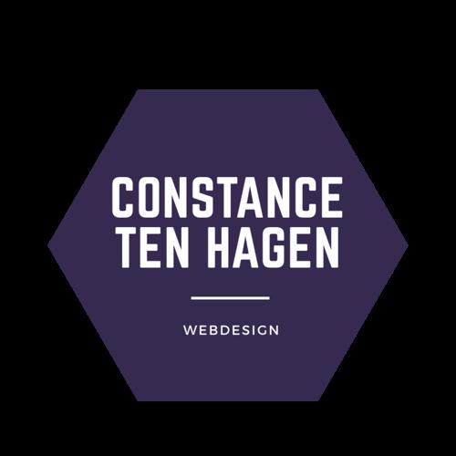 Constance ten Hagen webdesign